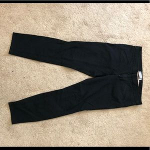 Gap Ultra Skinny Pants Two Way Stretch Black Pants